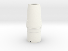 Nike Smoke Nose Cone for T-35mm Pt. 1 in White Processed Versatile Plastic
