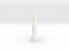 Nike Smoke Nose Cone for T-35mm Pt2 in White Processed Versatile Plastic