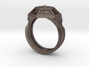 Ring of Royal Grandeur (21mm) in Stainless Steel