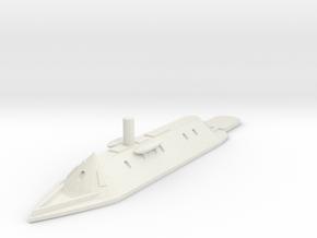 1/600 CSS Virginia in White Natural Versatile Plastic