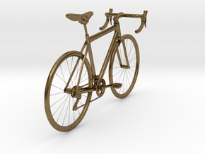 Bicycle in Natural Bronze