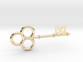 Skeleton Key Small in 14K Gold