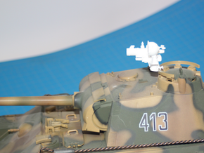 1:18 German FG 1250 Infrared Optics  for Panther T in White Strong & Flexible