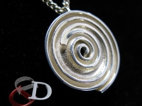 InFin Nautilus: Pendant - Petite in Polished Silver