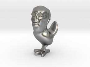 Mitch McChicken the Mitch McConnell Inactionfigure in Natural Silver