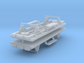 ZB (H0e) - 2ax-Fahrwerke für Liliput Gw - o.Bremse in Frosted Ultra Detail