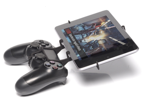PS4 controller & Lenovo IdeaTab A2107 in Black Natural Versatile Plastic