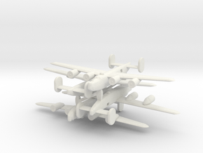 1/700 Consolidated B-24 Liberator in White Natural Versatile Plastic