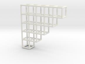 Tretis Pendant 2 in White Natural Versatile Plastic