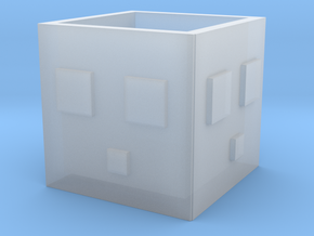 Minecraft Slime Cup in Smooth Fine Detail Plastic