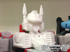 2004 Aerial Combiner Head & Neck Upgrade in White Strong & Flexible Polished