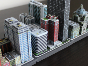 Chicago Set 1 Residential Tower 3 x 2 in Full Color Sandstone