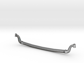 4-Inch Dropped Axle in Polished Silver