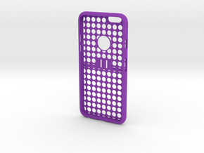 IPhone6 Two Part D0 in Purple Processed Versatile Plastic