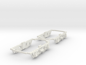 #87-8201 Taylor frame for NWSL Stanton in White Natural Versatile Plastic