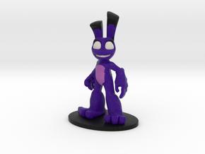 Purple Hare in Full Color Sandstone