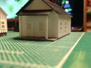 Lumber House in Smooth Fine Detail Plastic