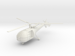 BW03 Alouette III (1/100) in White Strong & Flexible
