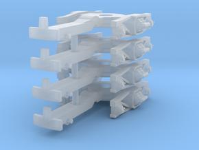ZB (H0e) - 2P Drehgestelle für 4-ax Pw (alt) in Frosted Ultra Detail