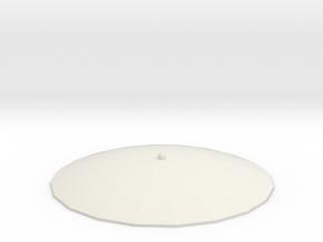 Austausch 5 für Faller Standard-Dach (H0 scale) in White Natural Versatile Plastic