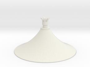 Austausch 6 für Faller Standard-Dach (H0 scale) in White Natural Versatile Plastic