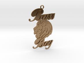 Lion Boy in Natural Brass