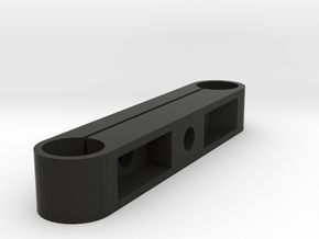 19mm Studio Rail Block in Black Natural Versatile Plastic