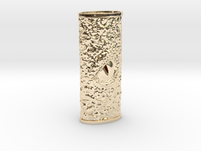 Dragon Eye Lighter Case in 14K Gold