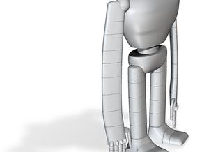 Laputa robot hollow out 1/25 in White Natural Versatile Plastic