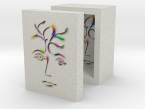 Young Artist Box 1in in Full Color Sandstone