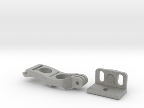 DJI Phantom - FPV Monitor Mount in Metallic Plastic