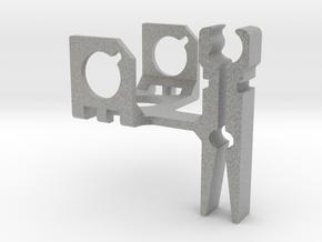 ZenClip - DJI Phantom 2 - Zenmuse H3-2D in Metallic Plastic