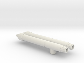 Seeker Cluster Bombs in White Natural Versatile Plastic