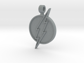 Flash Pendant in Polished Metallic Plastic