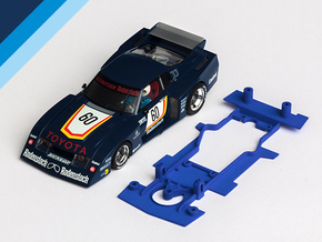 1/32 MRRC Toyota Celica Chassis for slot.it pod in White Natural Versatile Plastic
