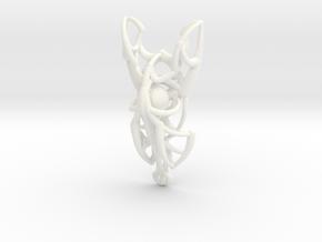 Dreamweaver Pendant in White Processed Versatile Plastic