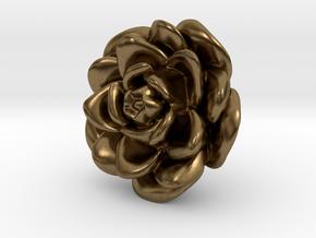 Rose Motif New in Natural Bronze