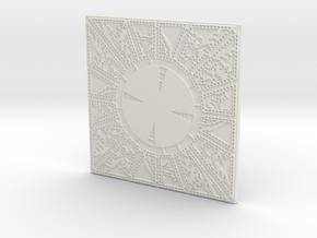 lament configuration face1 in White Natural Versatile Plastic