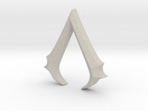 Rough Assassin's emblem in Natural Sandstone