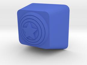 Cherry MX Captain America Keycap in Blue Processed Versatile Plastic