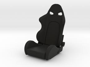 Race Seat - SType - 1/10 in Black Strong & Flexible