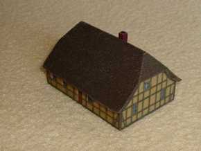 1/300 North German Cottage  in Full Color Sandstone