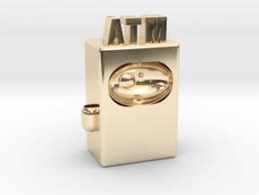 "ATM Future 4"" version in 14K Yellow Gold"