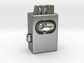 """ATM Future 4"""" version in Natural Silver"""