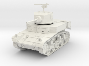 PV29 M3 Stuart - late turret (1/48) in White Strong & Flexible