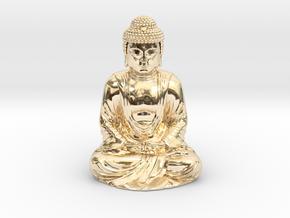 Buddha (1:160) in 14K Yellow Gold