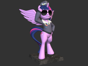 My Little Pony - Twilight CommanderEasyglider 14cm in Full Color Sandstone