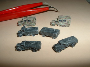 Opel Blitz Variants 1/285 6mm in Smooth Fine Detail Plastic