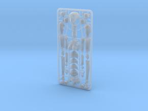 1/20 scale ALPHA EGO BJD kit, Female V03 in Smooth Fine Detail Plastic