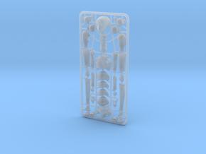 1/20 scale ALPHA EGO BJD kit, Neutral V01 in Smooth Fine Detail Plastic